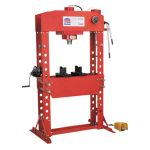 Sealey YK759FAH Air/hydraulic Press Premier 75tonne Floor Type wit…