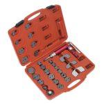 Sealey VS0286 Air Operated Brake Piston Wind-back Tool Kit 29pc