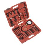 Sealey VSE3155 Petrol and Diesel Master Compression Test Kit