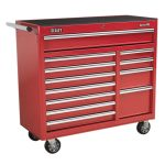 Sealey AP41120 Rollcab 12 Drawer with Ball Bearing Runners Heavy-d…