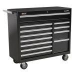 Sealey AP41120B Rollcab 12 Drawer with Ball Bearing Runners Heavy-…