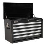 Sealey AP33059B Topchest 5 Drawer with Ball Bearing Runners – Black