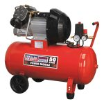 Sealey SAC05030 Compressor 50ltr Direct Drive 3.0hp