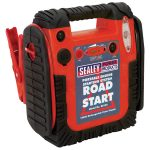 Sealey RS132 Roadstart Emergency Power Pack with Compressor 12V 9…