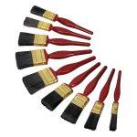 Siegen SPBS9 Synthetic Bristle Paint Brush Set 9pc
