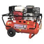 Sealey SA5055 Compressor 50ltr Belt Drive Petrol Engine 5.5hp