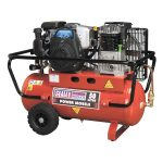 Sealey SA5040 Compressor 50ltr Belt Drive Petrol Engine 4hp
