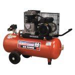 Sealey SAC0502B Compressor 50ltr Belt Drive 2hp with Cast Cylinder…