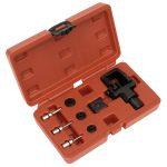 Sealey MS025 Heavy-Duty Motorcycle Chain Splitter and Riveting Tool Set