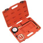 Sealey VSE3157 Diesel Compression Gauge, Hose and TDC Base Kit