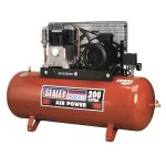 Sealey SAC42055B Compressor 200ltr Belt Drive 5.5hp 3ph 2-Stage – …