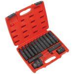 Sealey SX098 Impact Hex, TRX-Star Socket Bit Set 16pc 3/4″ and 1″Sq …