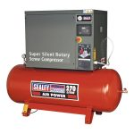 Sealey SSC12710 Screw Compressor 270ltr 10hp 3ph Low Noise