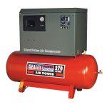 Sealey SAC72775BLN Compressor 270ltr Belt Drive 7.5hp 3ph 2-Stage …