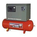 Sealey SAC2203BLN Compressor 200ltr Belt Drive 3hp with Cast Cylin…