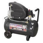 Sealey SAC5020E Compressor 50ltr Direct Drive 2hp
