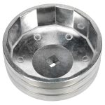 Sealey SX226 Oil Filter Cap Wrench diameter 74mm x 14 Flutes