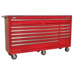 Sealey AP6612 Rollcab 12 Drawer with Ball Bearing Runners Heavy-Du…