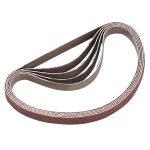 Sealey SM750B120G Sanding Belt 120Grit 25 x 762mm Pack of 5