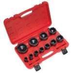 Sealey CV025 Ball Joint Socket Set 11pc 1/2″Sq Drive