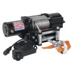 Sealey ATV2040 ATV/Quad Recovery Winch 2040kg Line Pull 12V