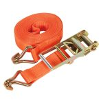 Sealey TD10008J Ratchet Tie Down 75mm x 8mtr Polyester Webbing 100…