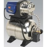 Sealey WPB062S Surface Mounting Booster Pump Stainless Steel 62L/m…