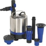 Sealey WPP1750S Submersible Pond Pump Stainless Steel 1750L/hr 230V