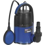 Sealey WPL117A Submersible Water Pump Automatic Low Level 2mm 117L…