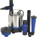 Sealey WPP3000S Submersible Pond Pump Stainless Steel 3000L/hr 230V