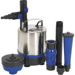 Sealey WPP3600S Submersible Pond Pump Stainless Steel 3600L/hr 230V