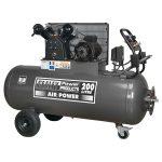 Sealey SAC3203B3PH Compressor 200ltr Belt Drive 3hp Front Control …