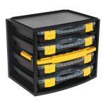Sealey AP0709 Portable 4 Case Modular Organiser