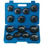 Draper Expert 40105 15 Pce Oil Filter Cup Socket Set