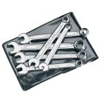 Elora 4212 6 Piece Midget Metric Combination Spanner Set