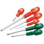 Draper 14078 6 Piece Cabinet Pattern Screwdriver Set