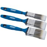 Draper 41372 3 Piece Soft Grip Paint Brush Set
