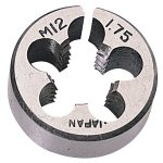 Draper 45193 1″ Outside Diameter 12mm Coarse Circular Die