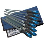 Draper 44961 8 Piece 200mm Soft Grip Engineers File and Rasp Set