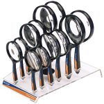 Draper 78477 Countertop Display of 12 Round Magnifiers