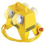 Draper 61996 4 Way Junction Box for 110V Site Transformer