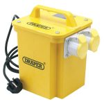 Draper 61999 3.3kva 230V16A Twin Outlet Portable Transformer