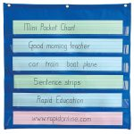 RVFM Mini Pocket Chart 710 x 710mm