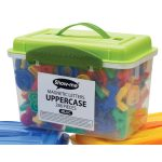 Show-me Magnetic Letters Upper Case (Tub of 286)