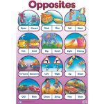 Opposites Wall Chart